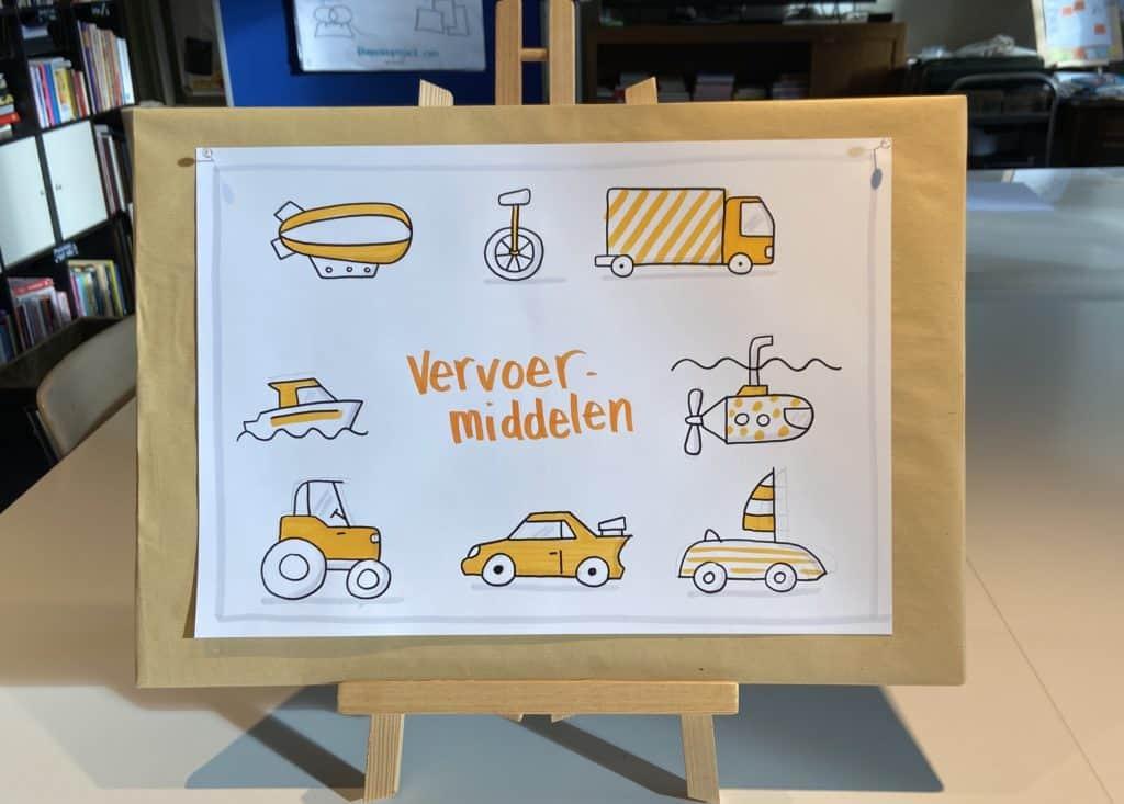 Workshop Visuele Vocabulaire - onthoud beter door te tekenen